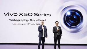 Vivo Indonesia Resmi Luncurkan Produk Vivo X50 dan X50 series.