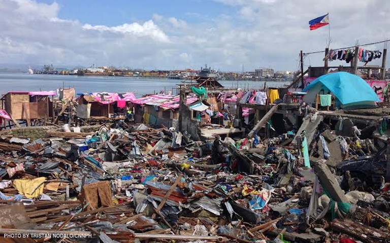 Tacloban City after Typhoon Yolanda