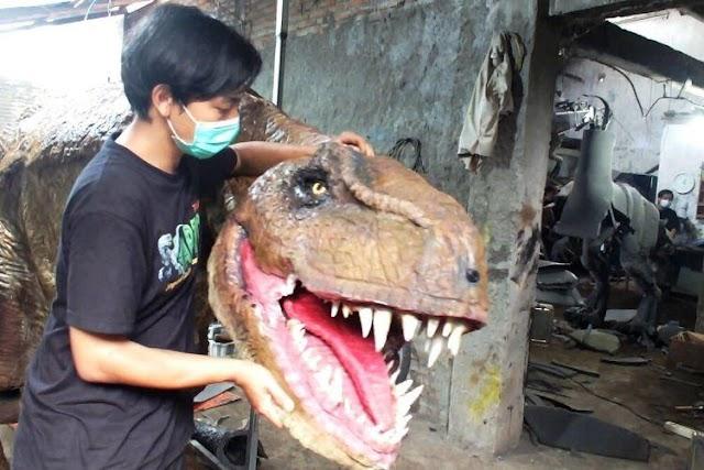 Sempat Viral, Kreator Dinosaurus Hidup Mendapat Apresiasi Ketua DPD RI