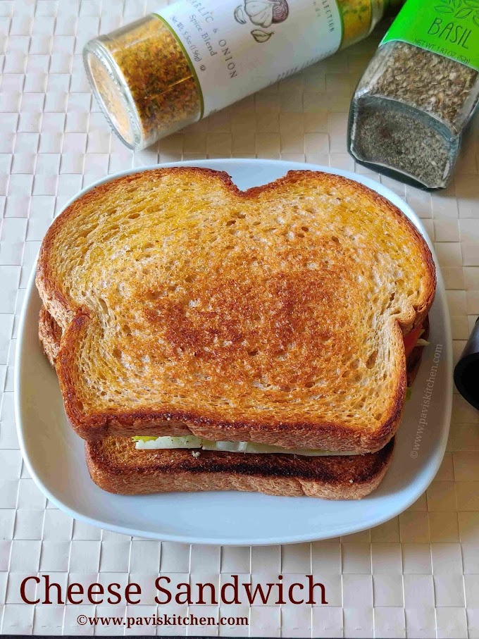 Veg cheese sandwich recipe   Indian vegetable cheese sandwich   on tawa/without grill