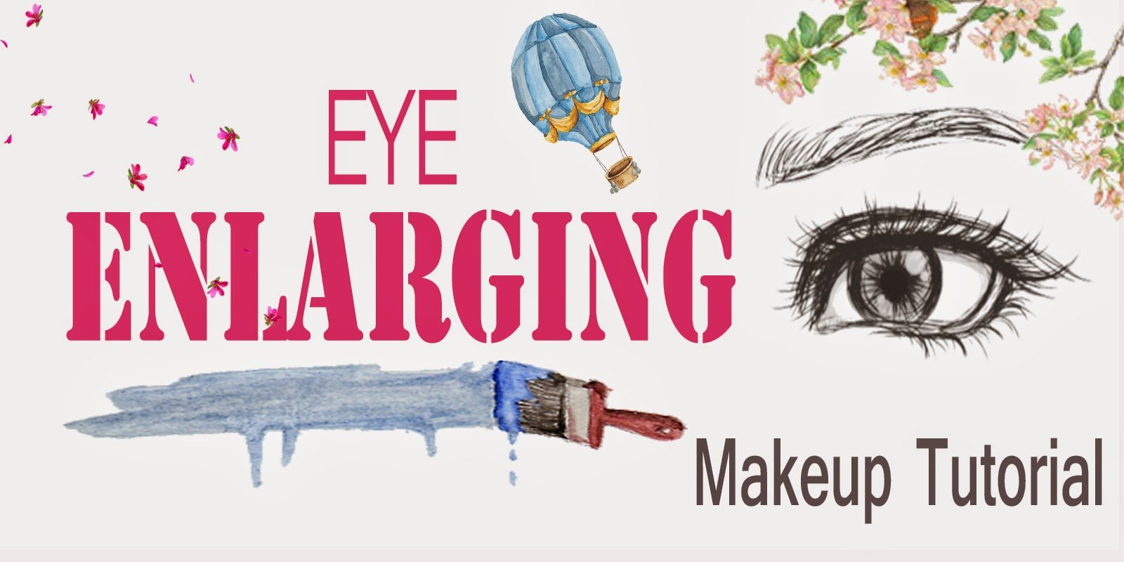 Eye Enlarging Makeup Tutorial - The Natural Look