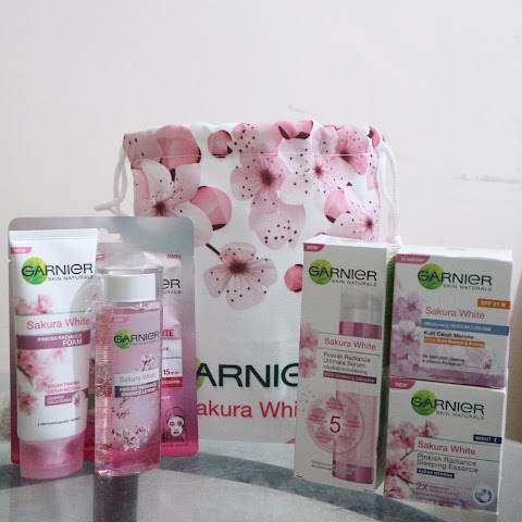 [REVIEW] Garnier Sakura White #ShowYourGlow