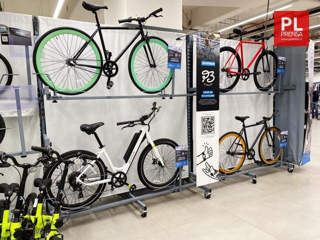 Fabricantes chilenos de bicicletas se unen a importante cadena deportiva francesa