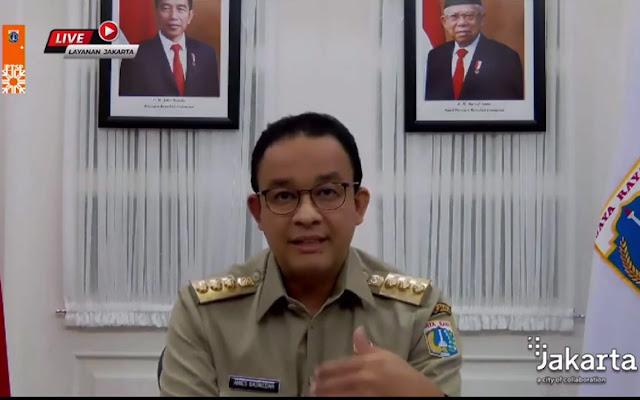 Anies: Banyak Warga Kena Corona Usai ke Bandung dan Semarang Saat Long Weekend