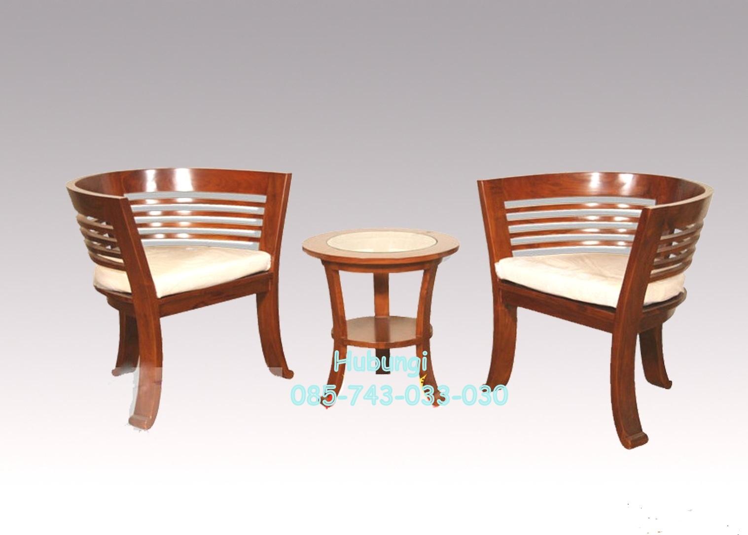 Model Kursi Minimalis Teras Desain Rumah Roda Jati Furniture