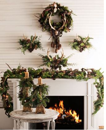 Eye For Design Decorating With Antlers Rustic And