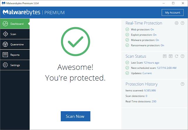 Malwarebytes Terbaru (Software Anti Virus Gratis Terbaik)