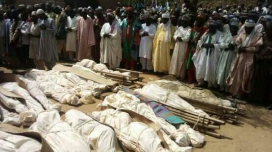 Mass burial held for 32 people killed by gunmen in Sokoto