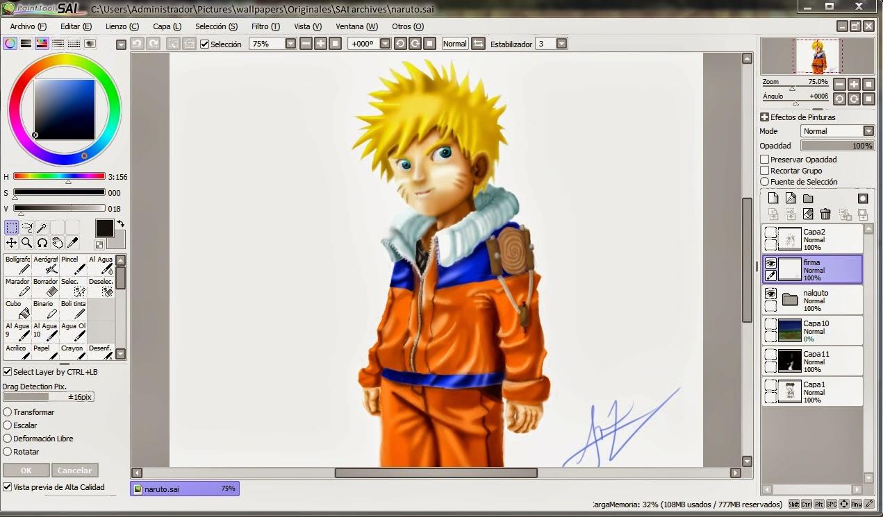 Cara Meracik Manga Dengan Photoshop