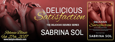 Release Blast & Giveaway:  Delicious Satisfaction – Sabrina Sol