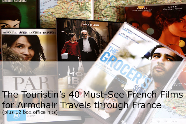 40 Must-see French Films for armchair-travels through France. Dorothee Lefering. The Touristin