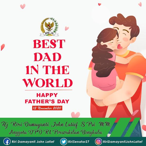 Selamat Hari Ayah Nasional, Nakhoda Rumah Tangga yang Gagah