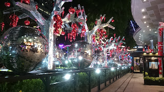Christmas at Mandarin Gallery Singapore