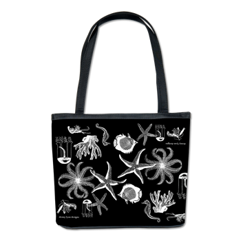 Midnight Busy Ocean Bucket Bag