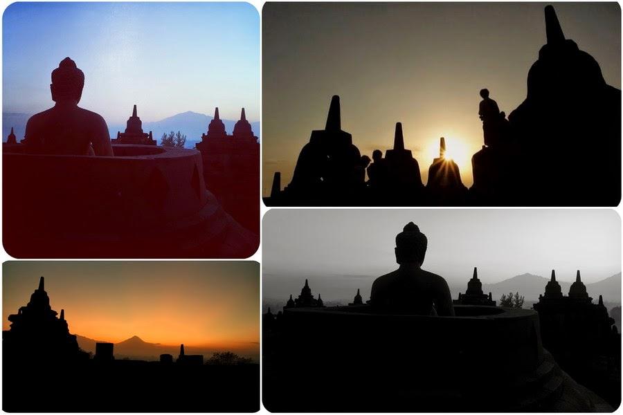 Sunrise Dari Candi Borobudur