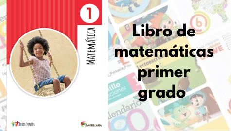 Libro de matemáticas primer grado
