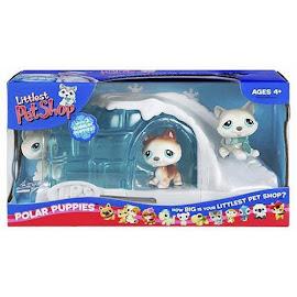 Littlest Pet Shop Small Playset Husky (#70) Pet