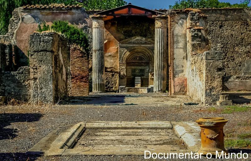 Casa dei Dioscuri, Pompeia, Itália