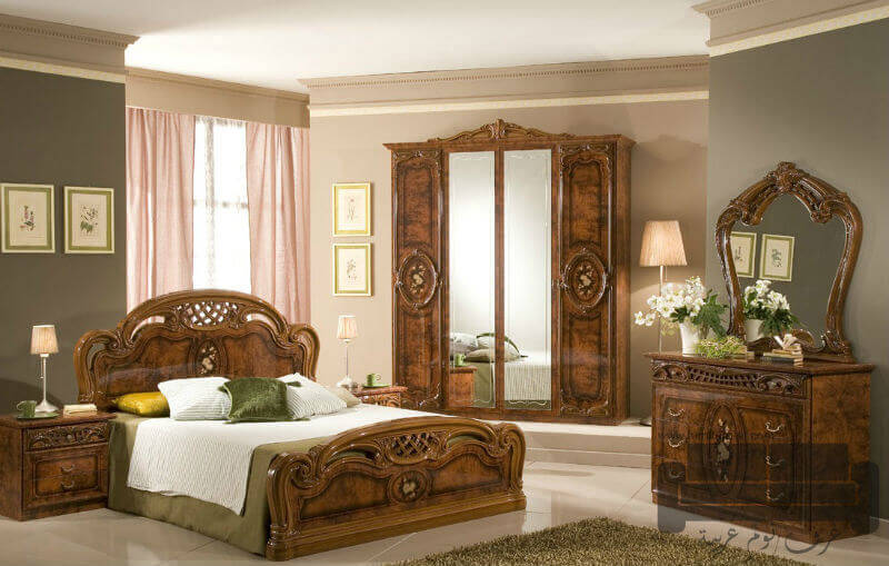 غرف نوم كلاسيك كاملة للبيع 2017 غرف نوم الأثاث الحديث