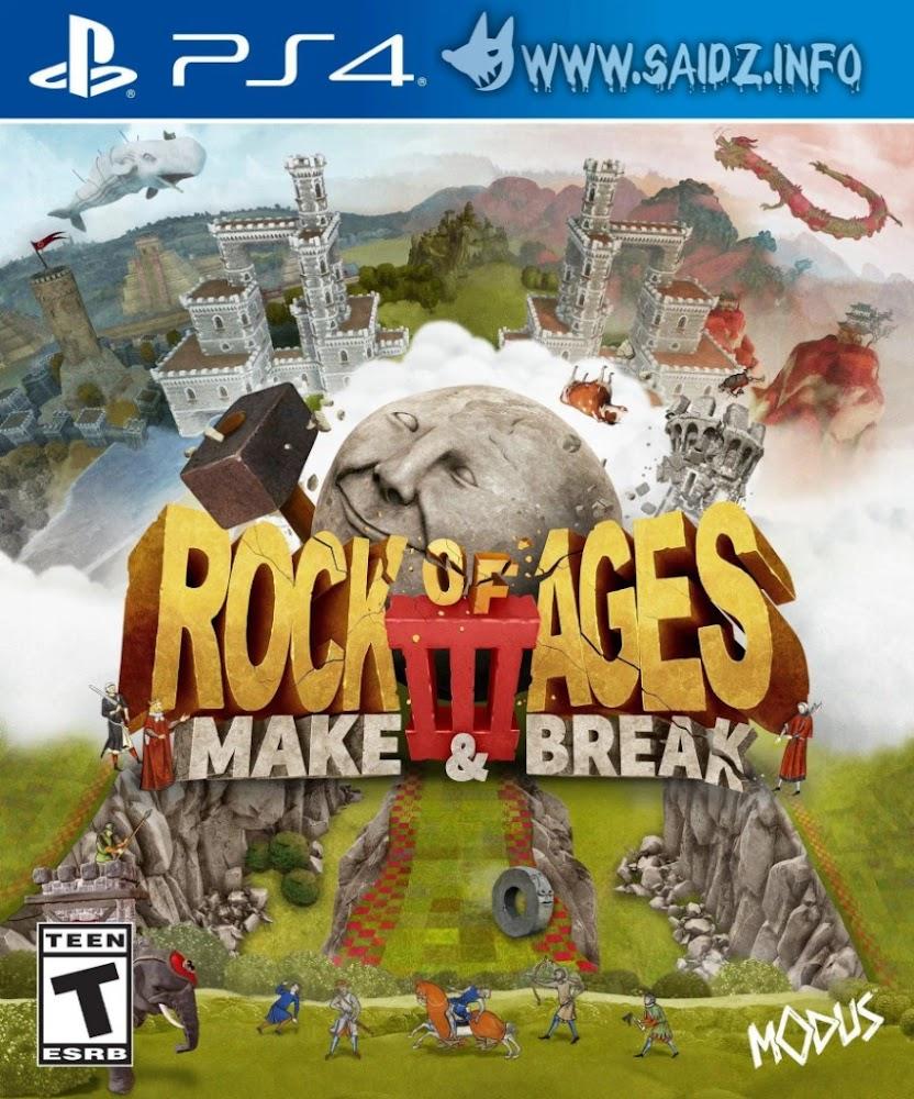 Rock of Ages 3: Make & Break PS4