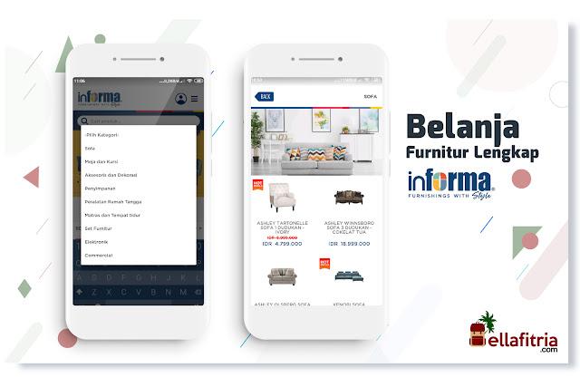 Semua furnitur rumah dalam satu aplikasi