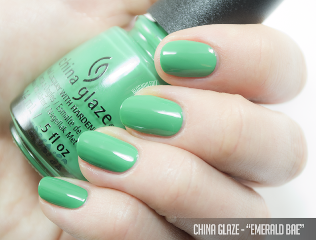 China Glaze - Emerald Bae