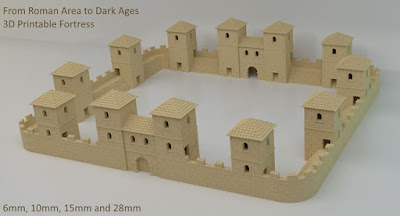 Roman to Dark Ages Fortress