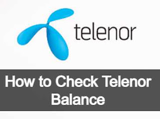 Telenor Balance Check Code | How to Check Telenor Balance?