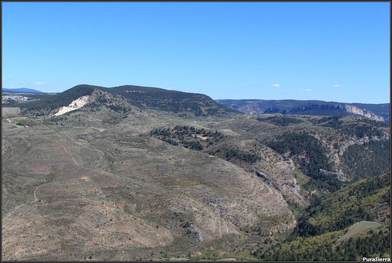 La Campana y Las Terreras De La Virgen vistas desde El Machorro