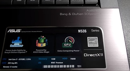 Asus n53sn notebook drivers download and update for windows 10, 8.