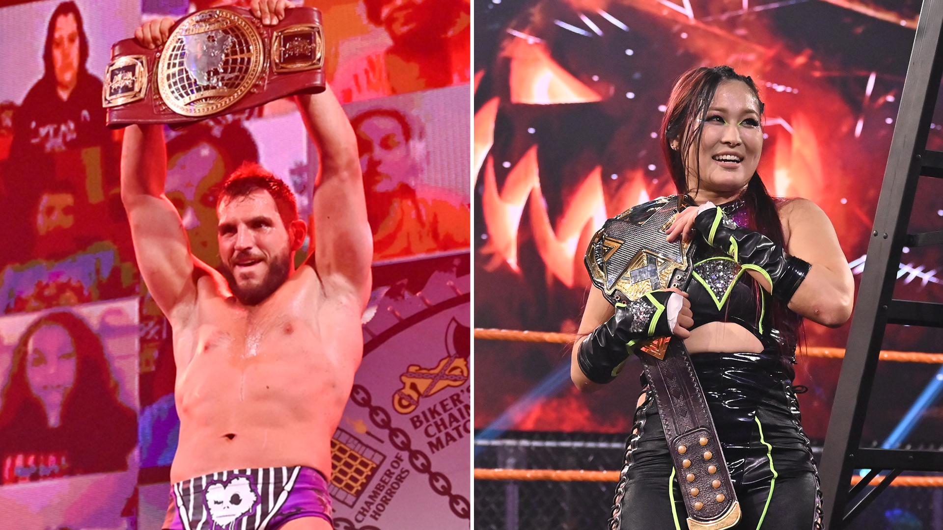 """Cobertura: WWE NXT Wrestling """"Halloween Havoc"""" (28/10/2020) – Um novo campeão!"""