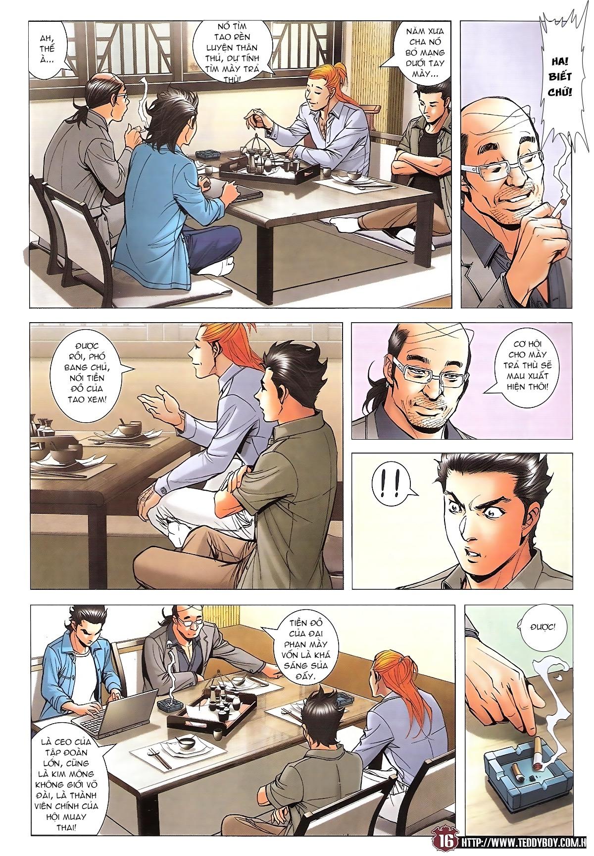 Người Trong Giang Hồ chapter 1746: đại phạn lên đĩa trang 13