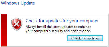 Disable Windows Automatic Update 2015