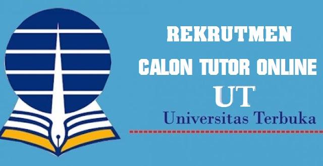 REKRUTMEN CALON TUTOR TUTORIAL ONLINE UT PROGRAM SARJANA 2019/2020