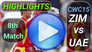 ZIM vs UAE 8th Match