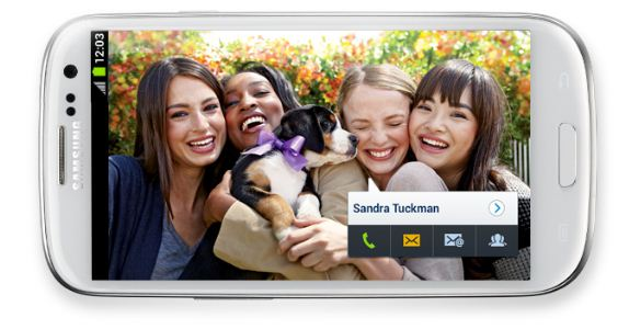 Samsung Galaxy S3 - Social Tag