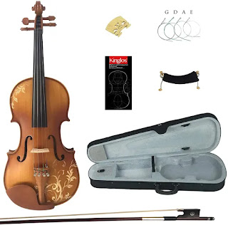 Kinglos Pained Violins for beginners