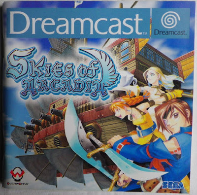 Skies of Arcadia - Manual portada