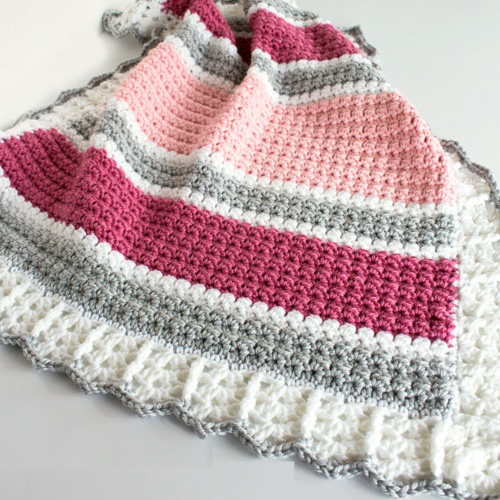 Essentials Baby Blanket - Free Pattern