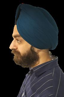 Blue Turban - Homies Hacks