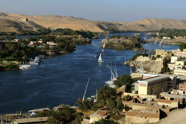 O Rio Nilo em toda sua extensão prova a Terra Plana