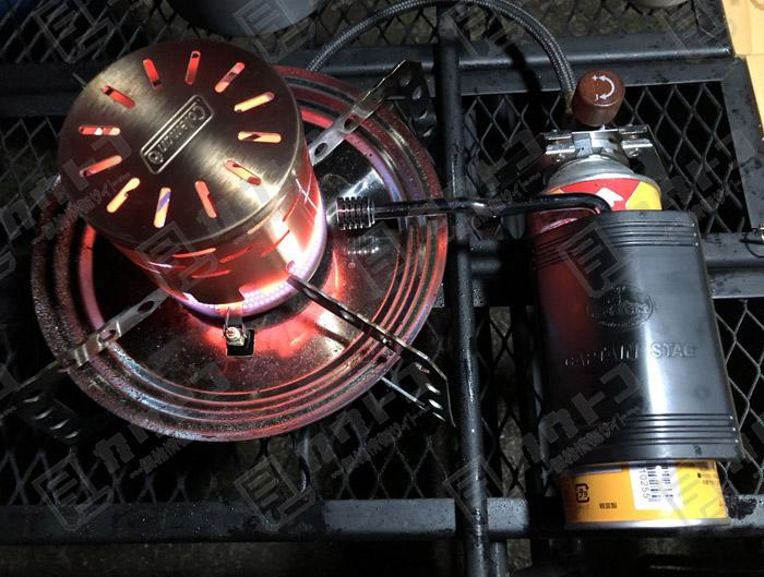 キャプテンスタッグ イグニス パワーインクリーザー M-8797 改造レビュー