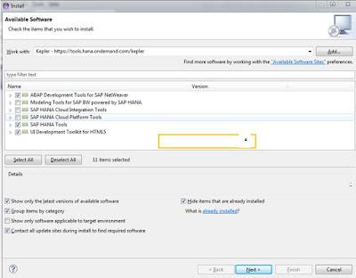 SAP ABAP Tutorials and Materials, SAP HANA ABAP, SAP ABAP Eclipse