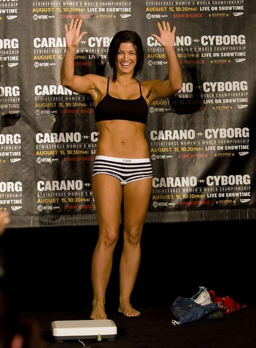 gata Gina Carano Gata   Gina Carano lutadora de MMA