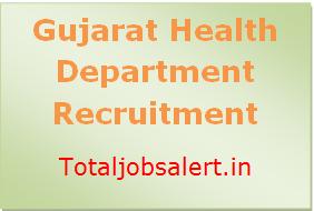 Gujarat Health Dept Recruitment
