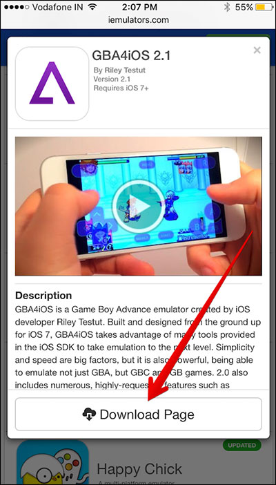 How to install gba4iOS in iOS 12 on iPhone Xs/XR/8/7/6s plus