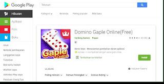 Game Dominoqq Gaple Gratis Dari Play store