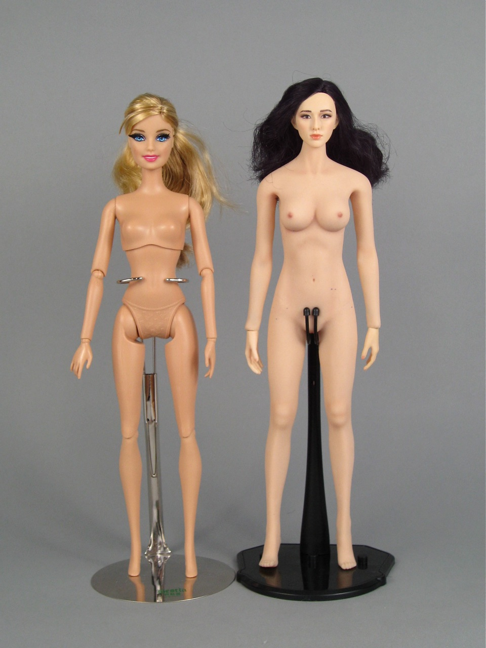 White guy and black girl naked