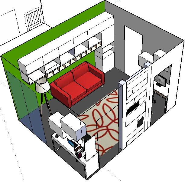 Home sweet home ristrutturare casa e dintorni lo for Camera ospiti e studio