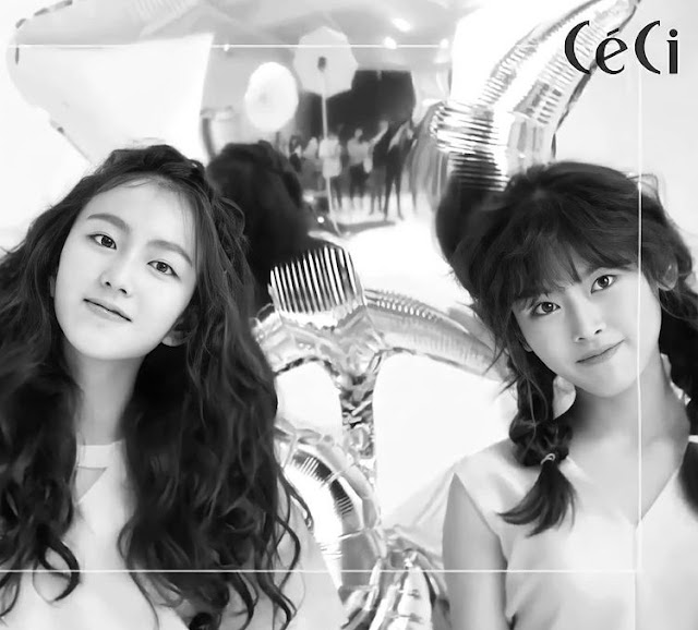 Knetz throwback about ex-SM Rookies Lami and Goeun's pictorial with CeCi!